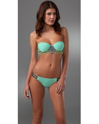 Mara Hoffman | Blue Embroidered Bikini | Lyst