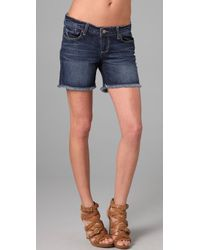 PAIGE | Blue Jimmy Jimmy Short | Lyst