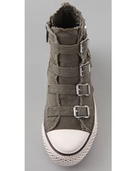Ash - Green Virgin 4 Buckle Sneakers - Lyst