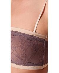 Calvin Klein - Purple Luxe Bandeau - Lyst