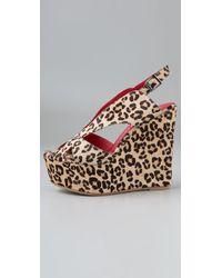 Jeffrey Campbell | Multicolor Mariel Wedge Sandals | Lyst