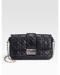 Dior - Black New Lock Flap Mini Bag - Lyst