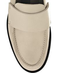Marni - Black Leather Penny Loafers - Lyst