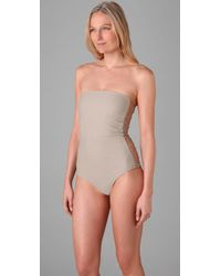 Mikoh Swimwear | Natural Santorini One Piece | Lyst