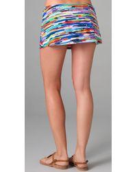 Shoshanna - Multicolor High Tide Print Skirt Cover Up - Lyst