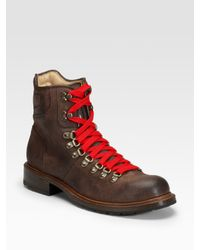 Frye | Brown Rogan Hiking Boots for Men | Lyst