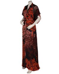 Issa - Multicolor Kimono Sleeve Long Dress - Lyst