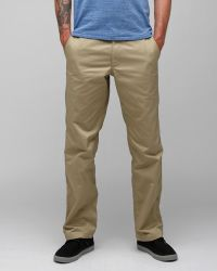RVCA | Green Americana Chino for Men | Lyst