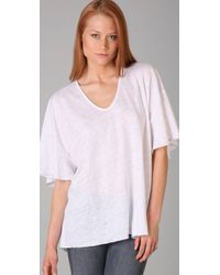 Tigerlily - White Lahar Oversize Tee - Lyst