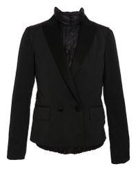 Moncler Black Tailored Jacket Blouson