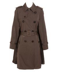 Moncler Brown Shihoko Trench Coat