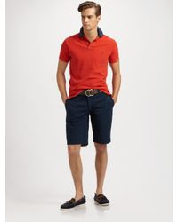 Polo Ralph Lauren | Blue Reversible Lagos Shorts for Men | Lyst