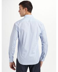 Theory - Blue Sylvain Water Mill Sportshirt for Men - Lyst