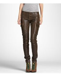 Tory Burch | Brown Adele Legging | Lyst