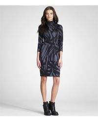 Tory Burch - Gray Thamara Dress - Lyst