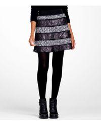 Tory Burch | Purple Blythe Skirt | Lyst
