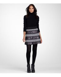 Tory Burch - Purple Blythe Skirt - Lyst