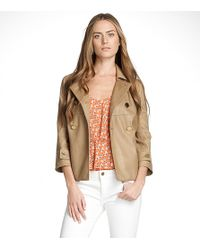 Tory Burch | Brown Blarr Jacket | Lyst