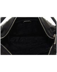 Botkier - Black Venice Exposed Zip Leather Hobo Bag - Lyst