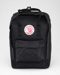 Fjallraven | Black Kanken 15 Laptop Bag | Lyst