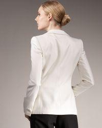 Giorgio Armani - White One-button Tuxedo Jacket - Lyst
