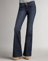 J Brand | Blue Love Story Dark Vintage Jeans | Lyst