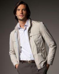 Lanvin | Gray Bomber Jacket for Men | Lyst