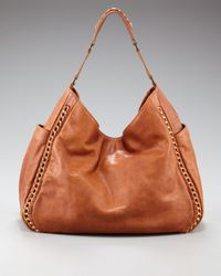 Tory Burch | Brown Carson Hobo | Lyst