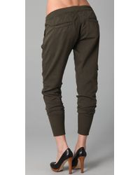 Citizens of Humanity - Green Colony Drawstring Cargo Pants - Lyst