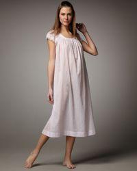Oscar de la Renta | Pink Celestial Dreams Lawn Gown | Lyst