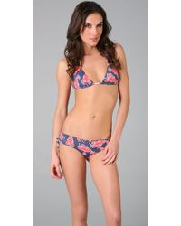 OndadeMar | Purple Reef Lobster Bikini Top | Lyst