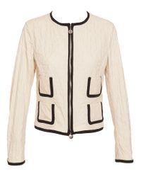 Moncler Natural Glenan Quilted Jacket