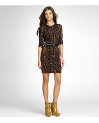 Tory Burch - Brown Cadence Dress - Lyst