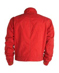 Belstaff - Red Washed Canvas Racemaster Jacket - Lyst