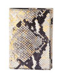 Graphic Image - Metallic Passport Cover - Lyst