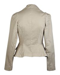 Vivienne Westwood Anglomania - Natural Beige Three Button Jacket - Lyst