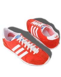 Adidas Red Retro Runner Trainers for men