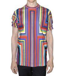 Jil Sander | Multicolor Printed Jersey T-shirt for Men | Lyst