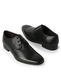 KG by Kurt Geiger Black Navigator Leather Shoe for men