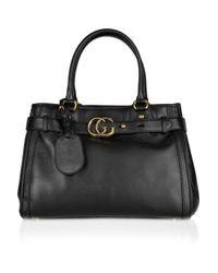Gucci Black Gg Running Medium Hobo Bag