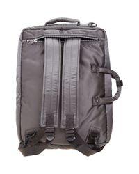 Porter - Gray Three-way Briefcase for Men - Lyst