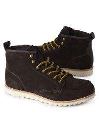 KG by Kurt Geiger Black Lodge Boots for men