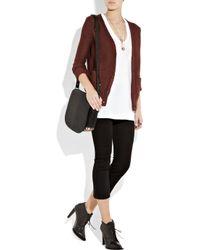 Alexander Wang | Black Lia Sling Studded Leather Messenger Bag | Lyst