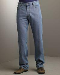 Ermenegildo Zegna | Blue Fury Jeans for Men | Lyst