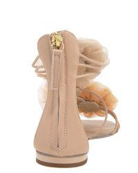 Giuseppe Zanotti | Pink Flower Sandal | Lyst