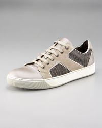 Lanvin | Green Haute Puzzle Sneaker for Men | Lyst