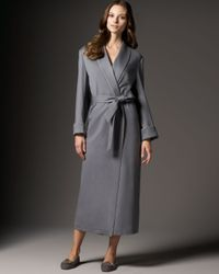 Loro Piana | Gray Cashmere Long Robe | Lyst