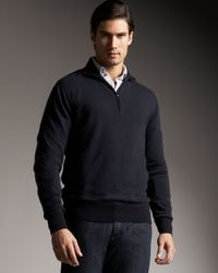 Loro Piana | Blue Cashmere Roadster Sweater, Navy for Men | Lyst