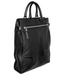 Dior Homme | Black Deerskin Top Handle for Men | Lyst