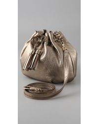 Anya Hindmarch | Metallic Lacing Cross Body Bag | Lyst